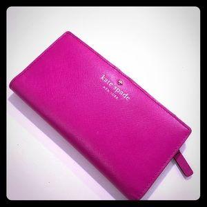 Kate Spade Wallet HOT PINK